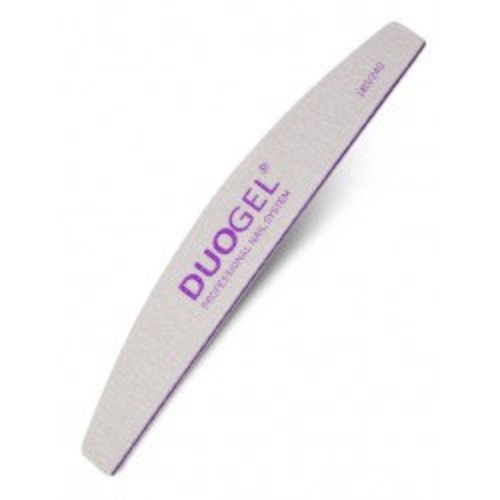 New Duo pilnik Duogel 180/240 Halfmoon