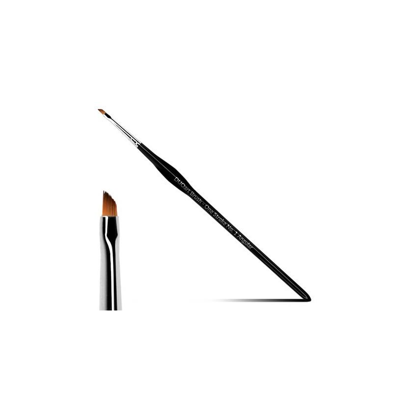 New Duo Pędzel DUOart Brush - One Stroke Angular No. 1