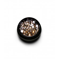 New Duo Crystal mix- LIGHT GOLD