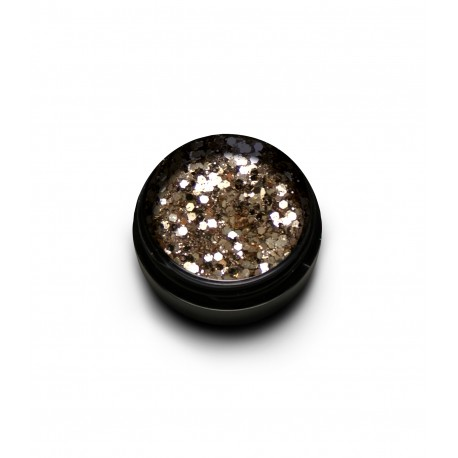 New Duo Sparkly Glitter Mix Silver