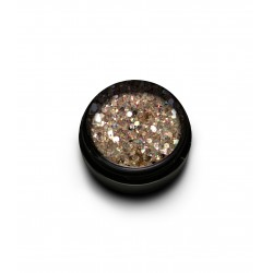 New Duo Sparkly Glitter Mix Ice Gold