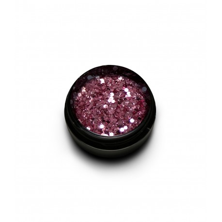 New Duo Sparkly Glitter Mix Rose Gold